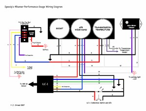 gaugewiring?resize=300%2C228 how to install an auto meter pro comp ultra lite voltmeter gauge quick car wiring diagram at couponss.co