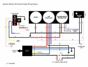 gaugewiring?resize=300%2C228 how to install an auto meter pro comp ultra lite voltmeter gauge quickcar wiring diagram at soozxer.org