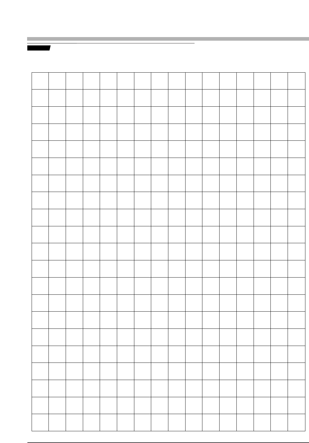 Free Centimeter Graph Paper