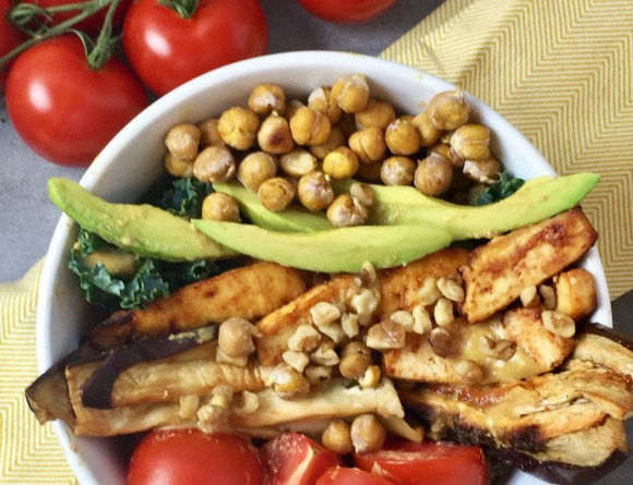 Protein Packed Vegan Bowl
