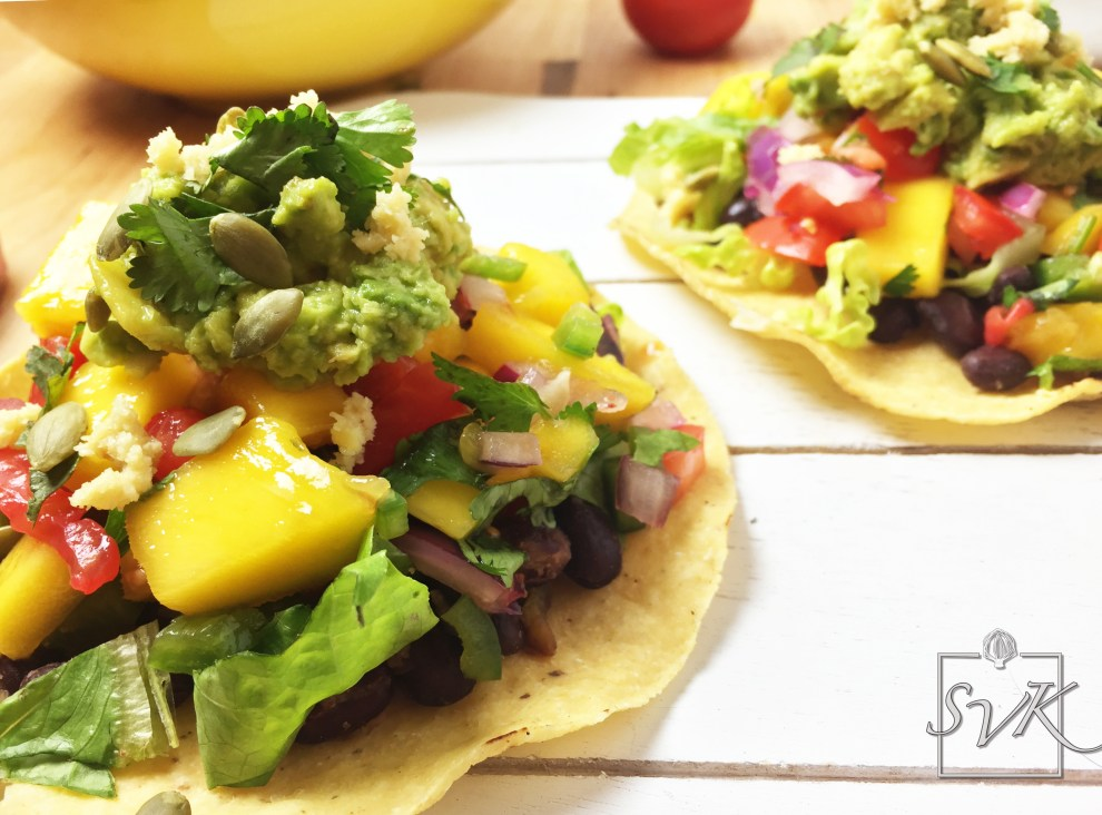 Black Bean Mango Tacos