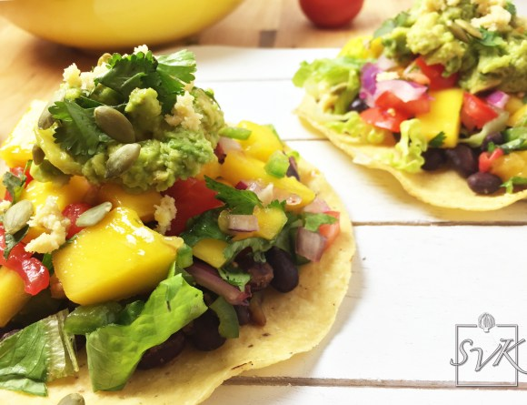 Black Bean Mango Tacos