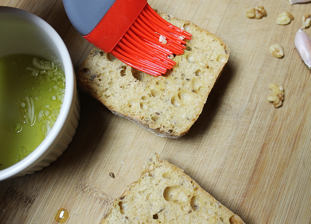 Vegan Garlic Bread.