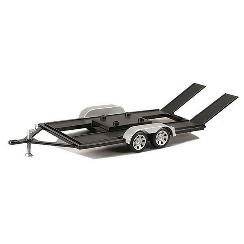 Motormax 1/18 scale Trailer Car Carrier 76009