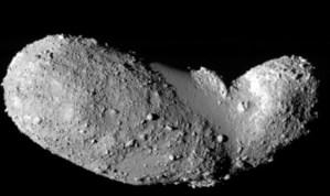 De asteroïde Itokawa