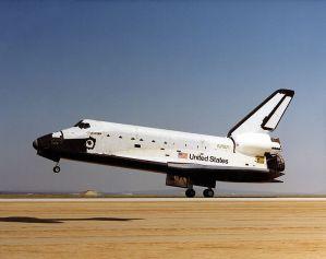 De space shuttle Challenger