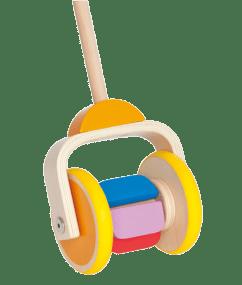 Hape Duwstok met bonte kleuren