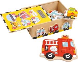 Puzzelbox voertuigen