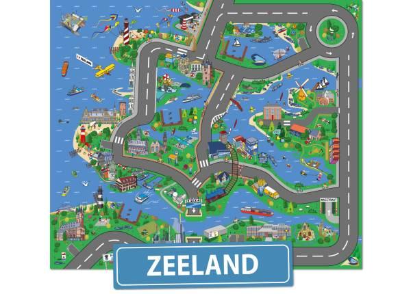 Speelkleed Zeeland, Speelmat Zeeland, speeltapijt Zeeland, autokleed zeeland