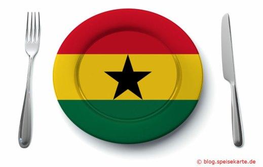 Was kommt auf den Teller in Ghana?