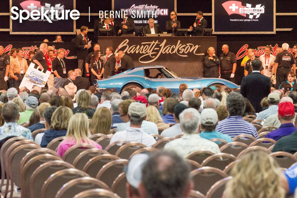 Record Sales at the 9th Annual Barrett-Jackson Las Vegas Collector Car Auction