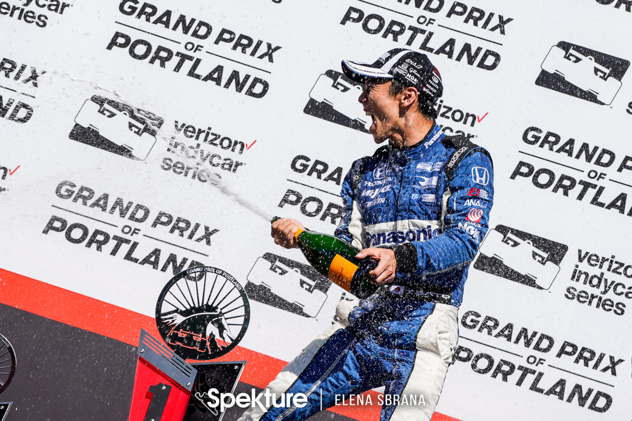 Takuma Sato, the King of Portland