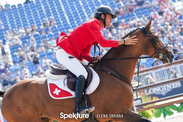 Earchphoto - Steve Guerdat and Bianca at the 2018 World Equestrian Games in Tryon NC