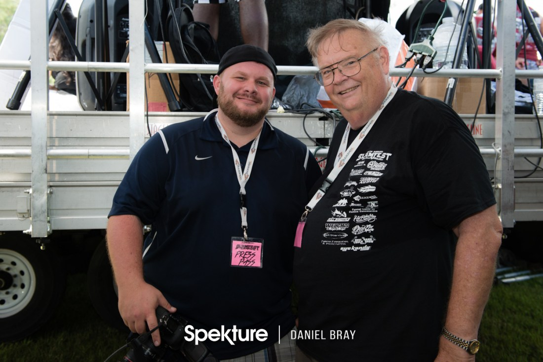Me (one the left) and my buddy/photographer Rodney Rodgers who got me to start photographing the event.