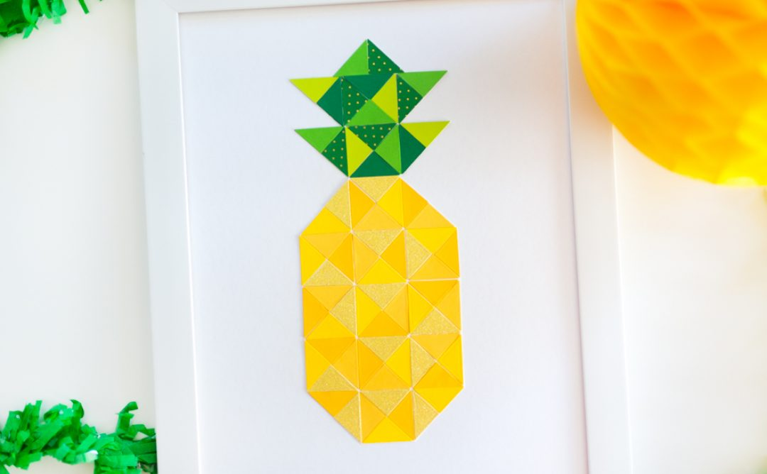 Quilt It Pineapple Print