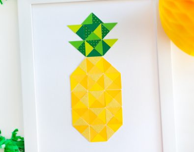 Quilt It Pineapple Print