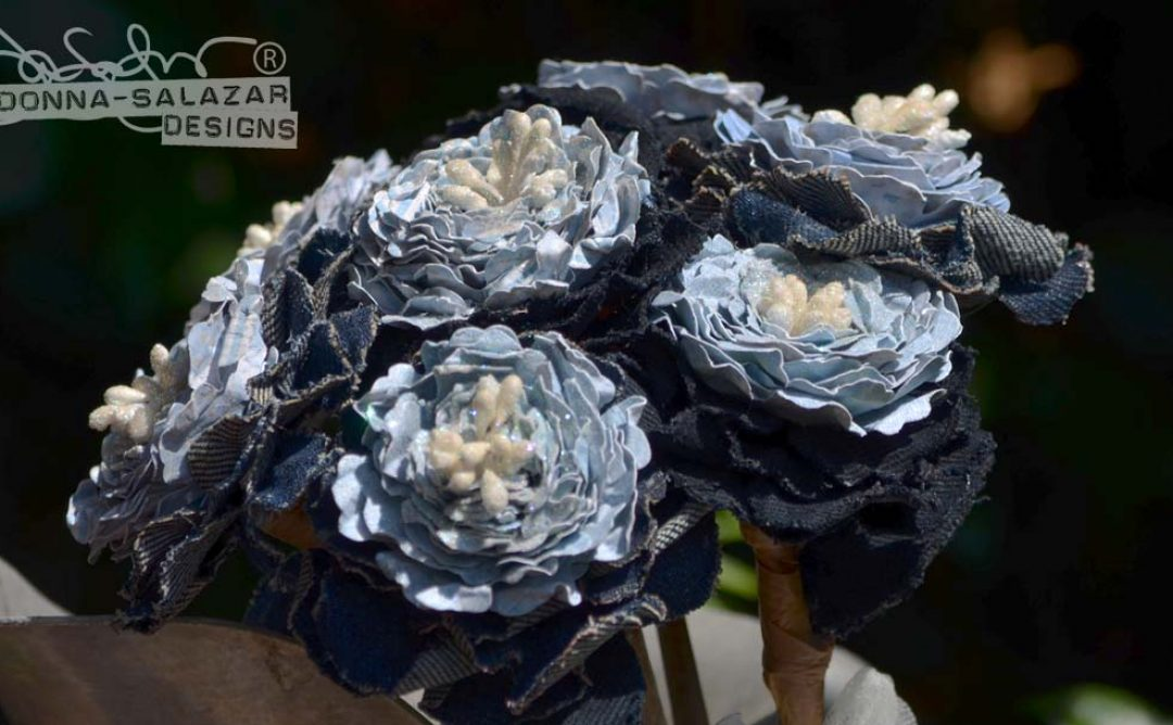 Rustic Wedding Bouquet by Donna Salazar