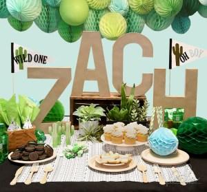 Creative DIY Party Decor Series | Unique and Trendy Cactus Baby Shower by Debi Adams for Spellbinders