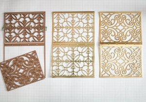 Becca Feeken of amazingpapergrace.com - Repurposing The Filigree Booklet Die into a Card
