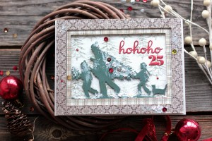Holiday Tunnel Cards by Elena Olinevich for Spellbinders