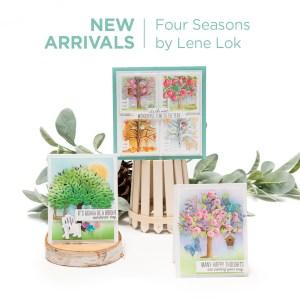 Spellbinders Four Seasons Collection by Lene Lok