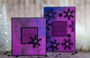 Spellbinders December 2017 Card Kit of the Month is Here   More Inspiration by Elena Salo #spellbinders #cardkit #cardmaking