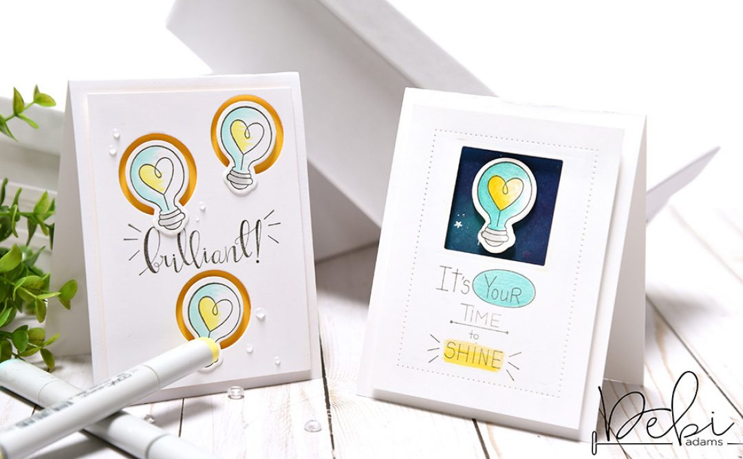 "Take Two: Creating Two Cards Using the Latest Collection, ""Love, Set, Match"" by Debi Adams"
