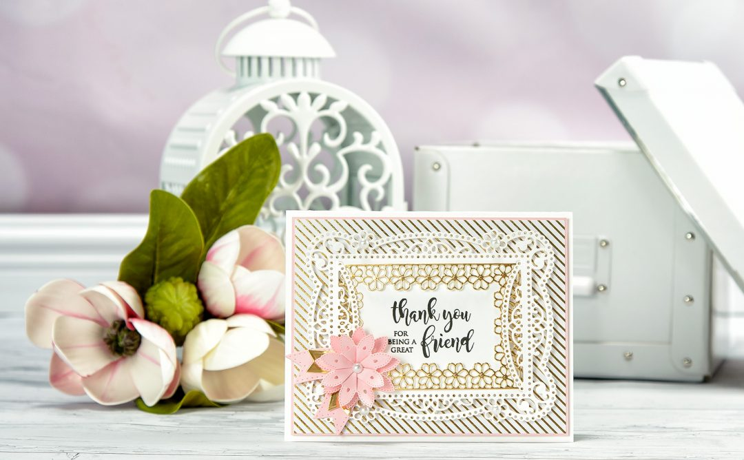 Cardmaking Inspiration | Thank You for Being A Great Friend Card