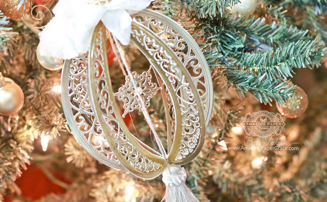 Diecut Ornament Series: Bella Rose Lattice Frame