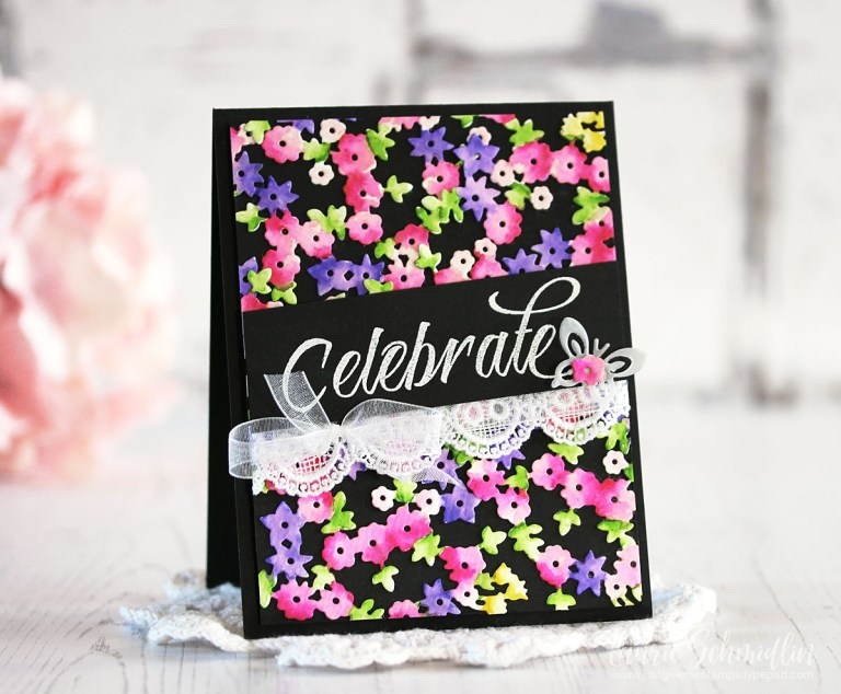 Four Seasons Spring Card by Laurie Schmidlin for Spellbinders using SS4-841 Spring Canopy and Elements dies #spellbinders #diecutting #cardmaking
