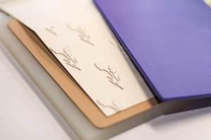 Spellbinders   Lavender & Poppies Inspiration   Dry Embossing with Elena using S3-290 Lavender Bunch S5-321 Eau De Lavender Label #spellbinders #cardmaking