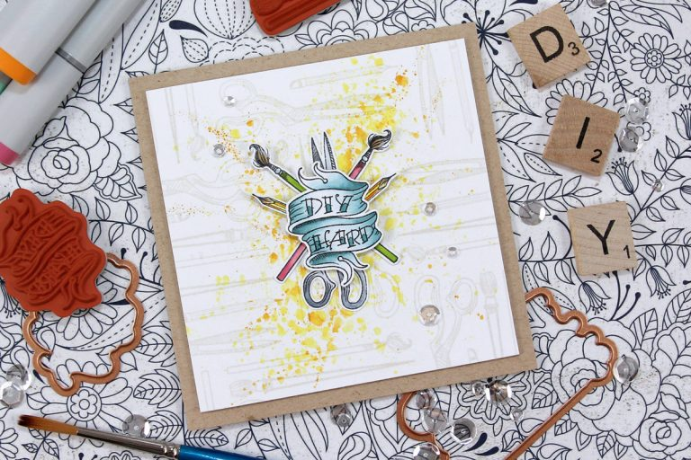 Handmade Collection by Stephanie Low - Inspiration | Handcrafted Cards with Anna for Spellbinders using SDS-071 Handcrafted, SDS-074 Kitchen #spellbinders #cardmaking #stamping