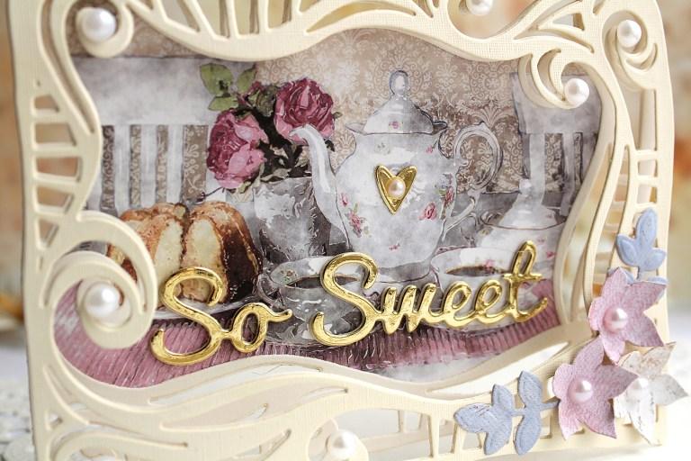 Video Friday | Swirl Frame Cards with Olga for Spellbinders using: S5-354 Swirl Frame, S3-308 Seasonal Words, S4-563 Phrase Set One, S5-338 Wreath Elements, S5-350 Borders, SES-013 Flourish Stitch #spellbinders #neverstopmaking #diecutting #handmadecard
