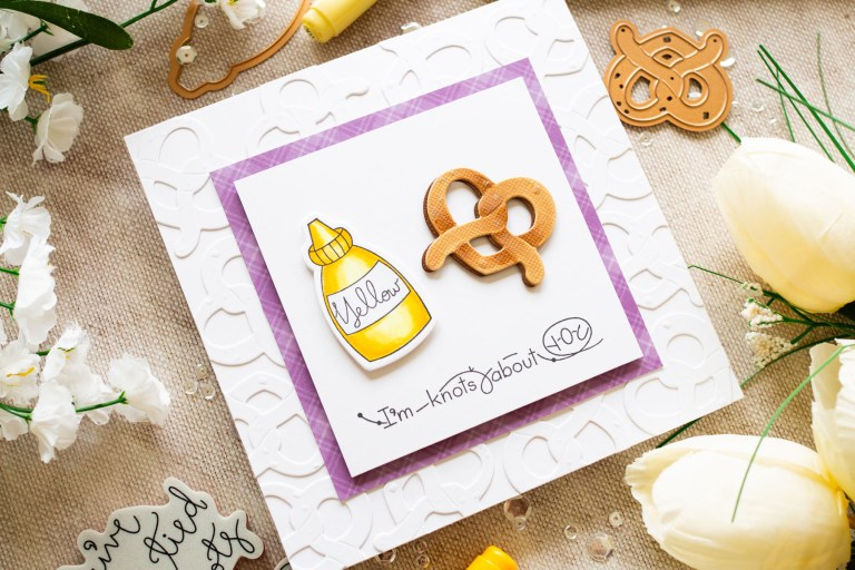 The Perfect Match Collection by Debi Adams - Inspiration | Twisted by Gemma Campbell for Spellbinders using SDS-125 Twisted stamp and die set #spellbinders #neverstopmaking #diecutting #handmadecard #stamping