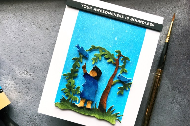Little Loves Collection by Sharyn Sowell - Inspiration | First Adventure by Rubeena for Spellbinders using: S3-331 First Adventure die #diecutting #handmadecard #spellbinders #neverstopmaking