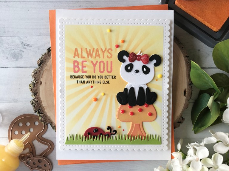 Video Friday   Mixing & Matching Dies + Embellishing with Nuvo Drops