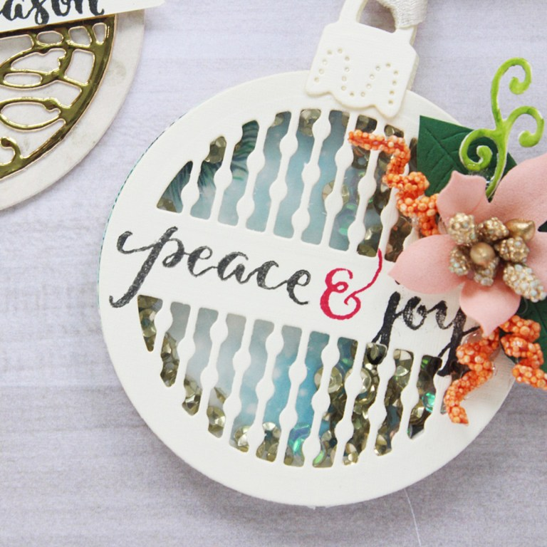 Spellbinders A Charming Christmas Collection by Becca Feeken - Inspiration | Festive Christmas Tags with Hussena
