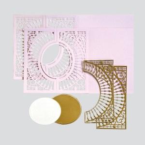 Spellbinders December Amazing Paper Grace Die of the Month is Here – Softly Spoke'n Flip and Gatefold Card. Believe in Yourself Handmade Card. Step 2