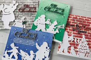 Video: Silhouetted Images Against Inked and Stenciled Backgrounds by Nichol Spohr for Spellbinders