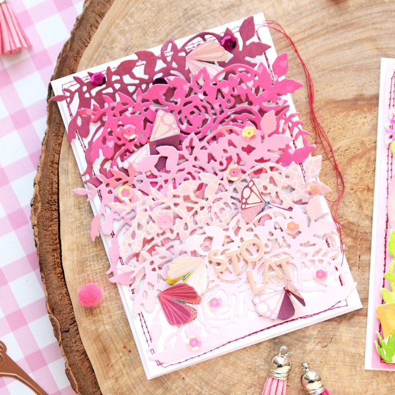 Great, Big, Wonderful World Inspiration | Cards filled with love by Anna Komenda for Spellbinders