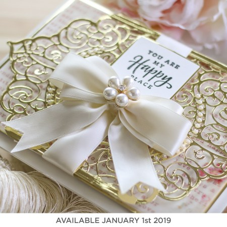 Spellbinders Amazing Paper Grace Die of the Month (available January 1st, 2019)