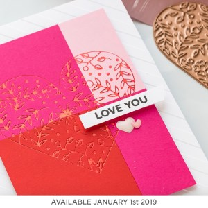 Glimmer Hot Foil Kit of the Month (available January 1st, 2019)