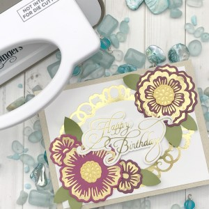Glorious Glimmer Collection by Becca Feeken - Inspiration | Elegant Cards with Desiree for Spellbinders