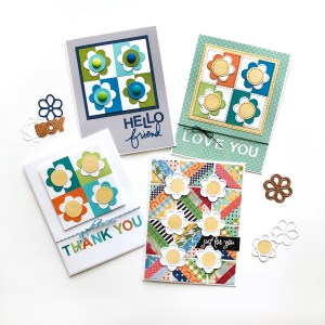 Exquisite Splendor collection by Sharyn Sowell - Inspiration | Patterned Paper Cards by Norine Borys for Spellbinders