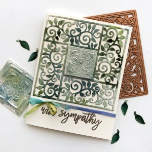 Exquisite Splendor collection by Marisa Job - Inspiration   Watercolor Cards by Norine Borys for Spellbinders