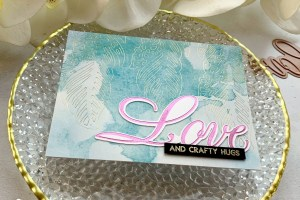 Paul Antonio Glimmer Plates Inspiration   Glamming Up With Glimmer Hot Foil with Janette Kausen for Spellbinders