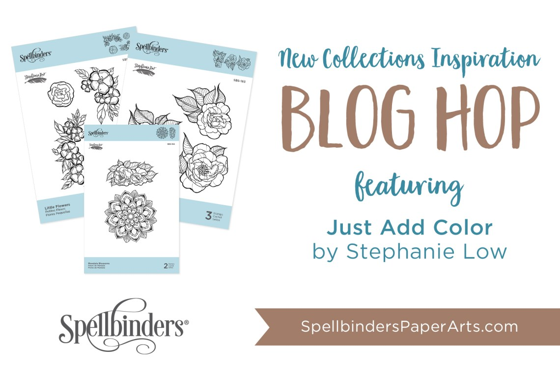 Stephanie Low Just Add Color Release. Blog Hop + Giveaway