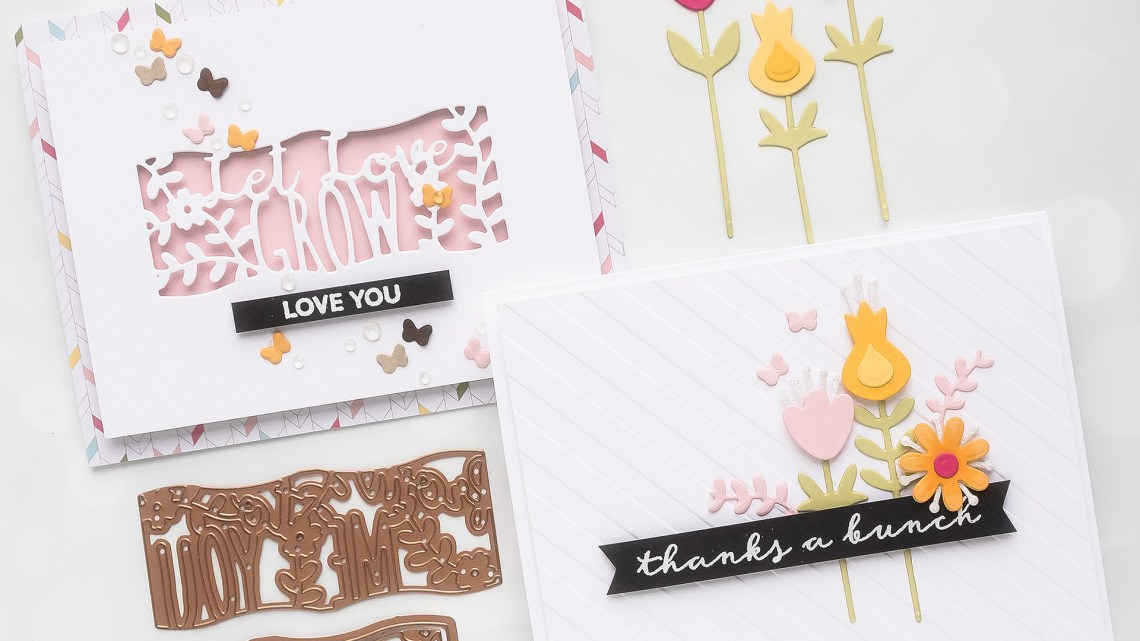 Spellbinders March 2019 Large Die of the Month is Here – Pop Up Garden