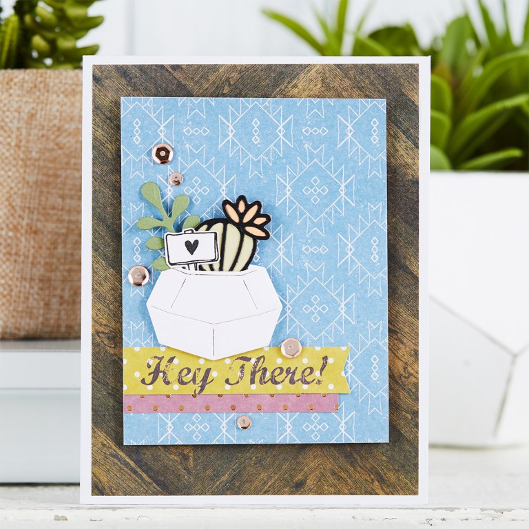 Spellbinders March 2019 Card Kit of the Month is Here – Relax & Enjoy