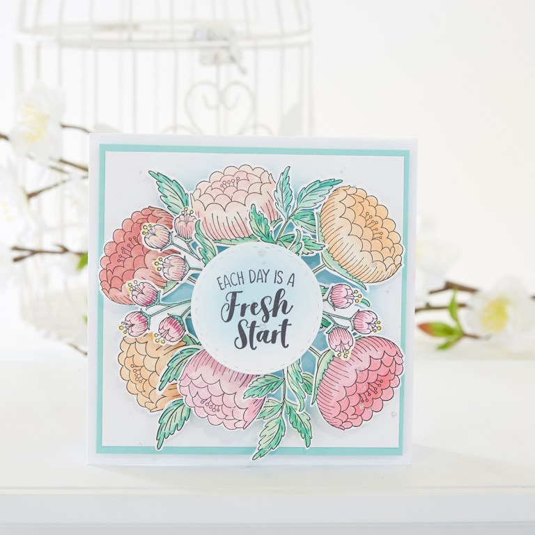 April 2019 Stamp of the Month is Here - Fresh Start